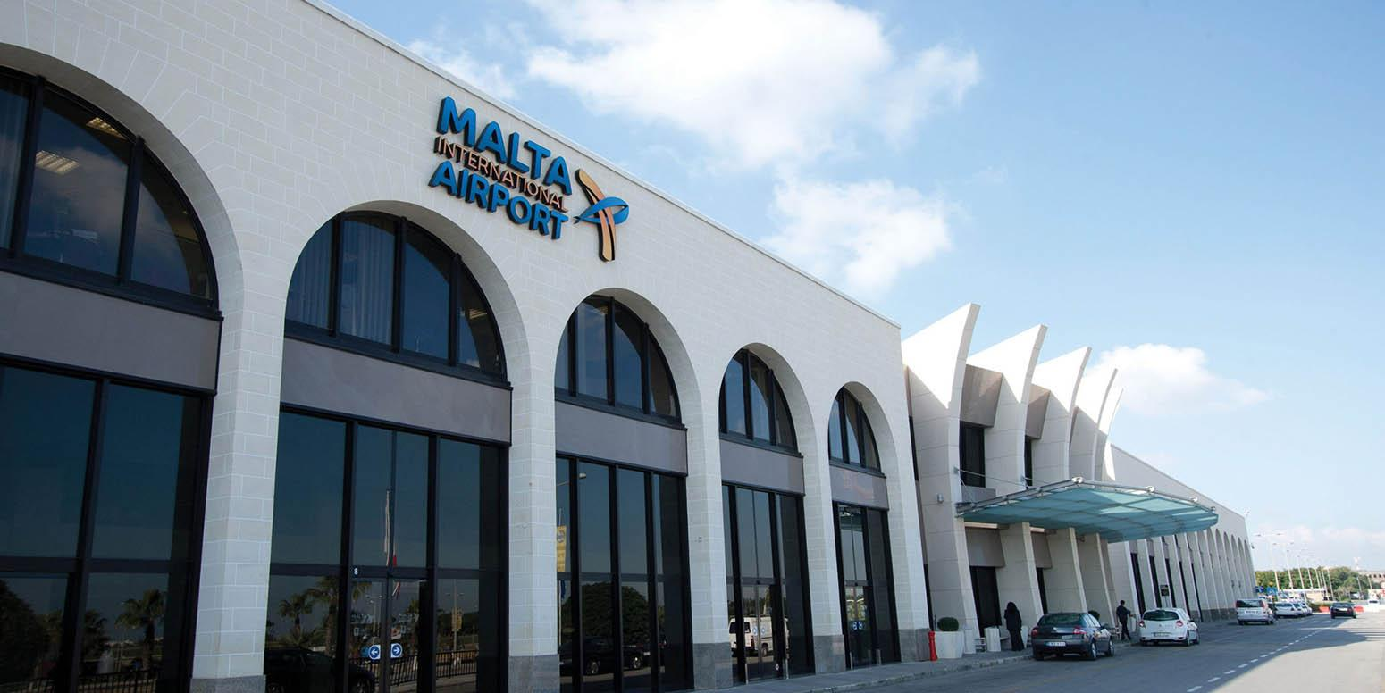 Бизнес зал в аэропорту Мальты