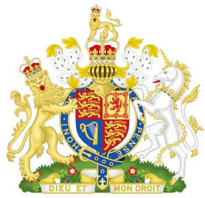 royal coat of arms of the united kingdom 300x290 - Великобритания
